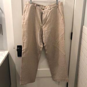 MENS- Perry Ellis linen pants